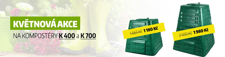 Květnová akce na kompostéry K 400 a K 700