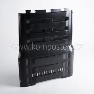 Boční díl kompostéru bez otvoru (K 290, K 390 černý)