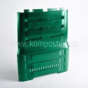 Boční díl kompostéru bez otvoru (K 290, K 390 zelený)