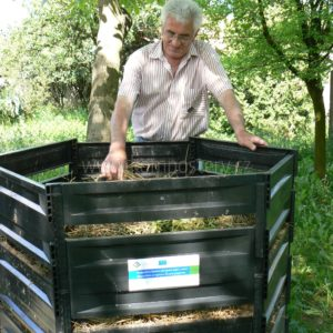 Kompostovací sila mají velkou výhodu, že jsou variabilní